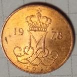 Дания 5 оре 1978, фото №3
