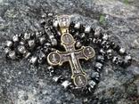 Цепь с крестом 166грам, фото №2