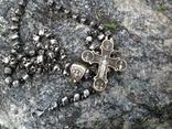 Цепь с крестом 166грам, фото №4