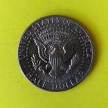 """США 1/2 долара, 1973 Мітка монетного двору: """"D"""" - Денвер, фото №3"""