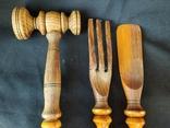 Деревянные кухонные приборы, фото №3