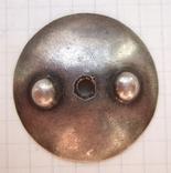 Серебряная закрутка для ранних орденов однофланцевая. Резьба М4, диаметр 32 мм, фото №2