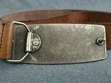 Ремень сделан в Англии Мустанг Пояс кожаный ремень River Island, фото №7