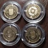 2 гривны Украина.Золото. 4 шт., фото №3