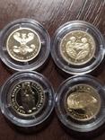 2 гривны Украина.Золото. 4 шт., фото №2