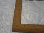 Рамка и под картину под старину (шашелем побитая) з натурального дуба формат А4, фото №4