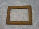 Рамка и под картину под старину (шашелем побитая) з натурального дуба формат А4, фото №5