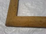 Рамка и под картину под старину (шашелем побитая) з натурального дуба формат А4, фото №8