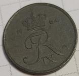 Дания 1 оре 1964, фото №3