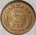 Дания 5 оре 1972, фото №2
