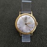 Позолоченные часы Полет де Люкс 29 камней Автоподзавод ау20 СССР, фото №2