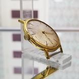 Позолоченные часы Полет де Люкс 29 камней Автоподзавод ау20 СССР, фото №5