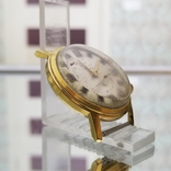 Позолоченные часы Полет Будильник ау20 СССР, фото №3