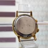 Позолоченные часы Полет Будильник ау20 СССР, фото №8