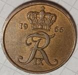 Дания 5 оре 1966, фото №3