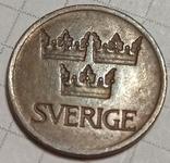 Швеция 5 оре 1972, фото №3