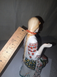 """Фарфоровая статуэтка """"Девушка вышивает"""", фото №8"""