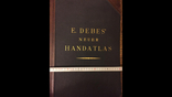 Большой географический атлас E.Debes` Neuer HANDATLAS, фото №6