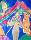 Платок батік., фото №4
