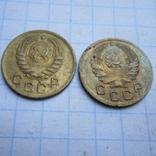 1 копейка 1936 и 1938год+бонус., фото №3