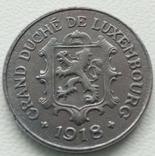 Люксембург 10 сантимов 1918 года, фото №3