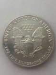 1-доллар США 1989 г, фото №3