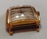 Часы Cuervo and Sobrinos в позолоченом корпусе 1960-х годов модель., фото №5