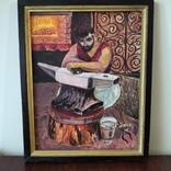 Картина Кузнец в раздумьях, фото №2
