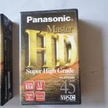Видеокассеты HD ec-45 2шт, фото №3