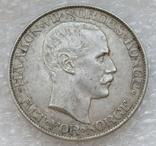 2 кроны 1908 г. Норвегия, серебро, фото №7