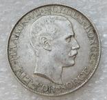 2 кроны 1908 г. Норвегия, серебро, фото №9