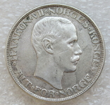 2 кроны 1913 г. Норвегия, серебро, фото №8