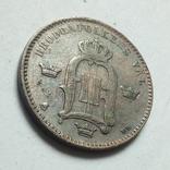 Швеция 10 эре 1884 г. Оскар II, фото №6