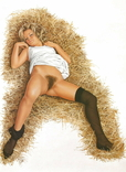 Блондинка ню., фото №2