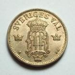 Швеция 25 эре 1907 г. Оскар II, фото №4
