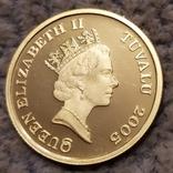 30 долларов 2005г.Тувалу., фото №2
