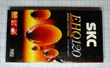 Видеокассета SKC EHQ120, чистая., фото №4