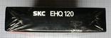 Видеокассета SKC EHQ120, чистая., фото №8