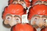 Маски для детских утренников СССР с бирками 8 шт, фото №7