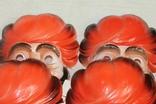 Маски для детских утренников СССР с бирками 8 шт, фото №8