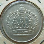 Швеция 25 эре 1956 серебро, фото №3