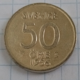 50 эре 1956г Швеция серебро, фото №2