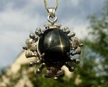 Кулон серебро астеризм., фото №4