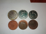 Монети різні 153 штуки, фото №8