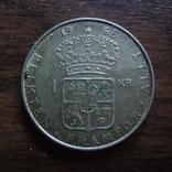 1 крона 1968 Швеция серебро (Л.3.17), фото №2