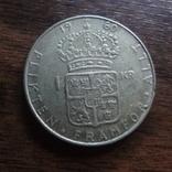 1 крона 1960 Швеция серебро (Л.4.5), фото №2