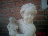 Мальчик с овечкой (мрамор), фото №4