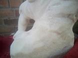 Мальчик с овечкой (мрамор), фото №12
