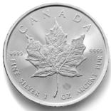 5 долларов. 2021. Кленовый лист. Канада (серебро 9999, вес 31,1 г), фото №4