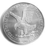 1 доллар. 2021. Американский орел. США (серебро 999, вес 31,1 г), фото №8